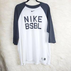 Nike Tee Dri-Fit Nike Baseball Athletic Cut Shirt